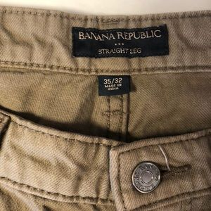 Banana Republic Jeans - Men's Banana republic straight leg jeans